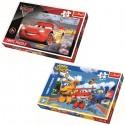SET PUZZLES MAXI 24PZAS CARS3 + SUPER WINGS