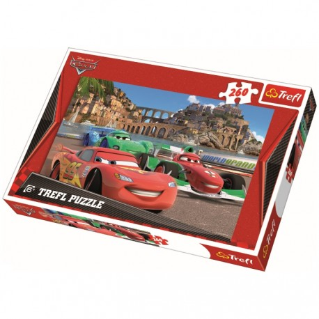 SET PUZZLE 260PZAS CARS3 + SPIDERMAN