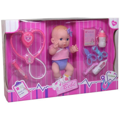 BEBÉ CUIDADOS 29CM CON ACCESORIOS de la categoría Muñecas Bebé
