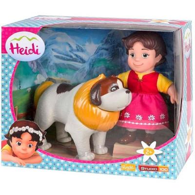 MUÑECA HEIDI Y NIEBLA de la categoría Muñecas y Mascotas Mini