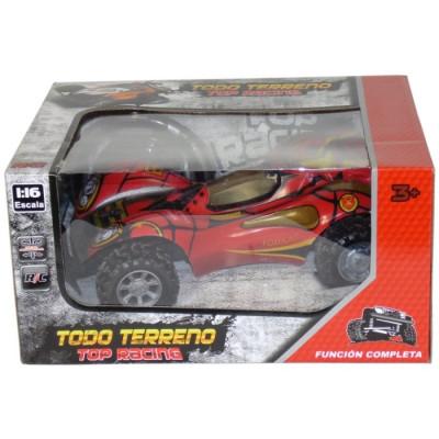 TODO TERRENO TOP RACING RADIOCONTROL 1:16 - ROJO