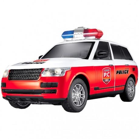 PATRULLA POLICIAL RADIOCONTROL 1:16 - ROJO de la categoría Radiocontrol