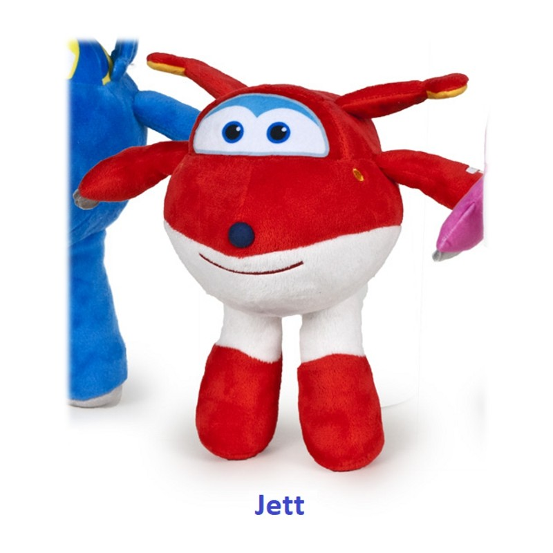 PELUCHE SUPER WINGS 28CM - JETT