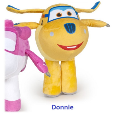 PELUCHE SUPER WINGS 28CM - DONNIE