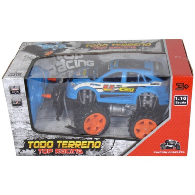 TODOTERRENO TOP RACING RADIOCONTROL 1:16 - AZUL