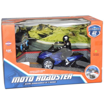 MOTO ROADSTER RADIOCONTROL 1:14 - AZUL