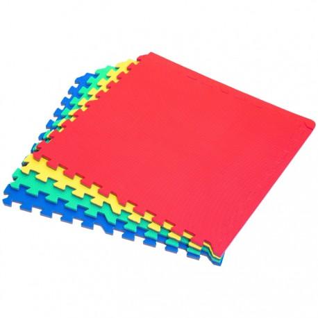 PUZZLE ALFOMBRA EVA 4 PZAS COLORES 60x60x1,2CM de la categoría Puzzles