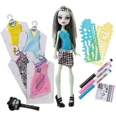 MONSTER HIGH FRANKIE STEIN DESIGNER BOOO-TIQUE