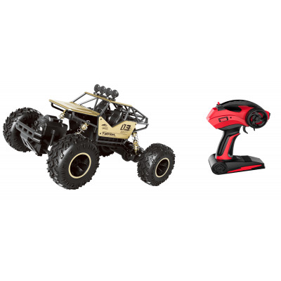 RC TODO TERRENO ROCK CRAWLER ESCALA 1:16 DORADO