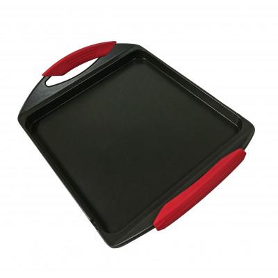 PLANCHA DE ASAR 34X27CM CON FONDO GROSOR 2.2MM COLOR COBRE de la categoría Para Cocinar Cocción
