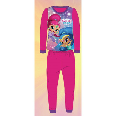 PIJAMA POLAR SHIMMER AND SHINE ROSA T4