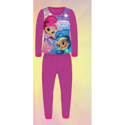 PIJAMA POLAR SHIMMER AND SHINE FUCSIA T6
