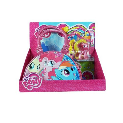 BOLSO BOWLING + FIGURA MY LITTLE PONY ROSA