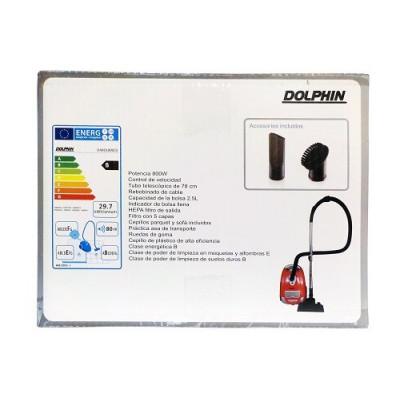 ASPIRADORA DOLPHIN 800 WATT de la categoría Electrodom. Aspiración