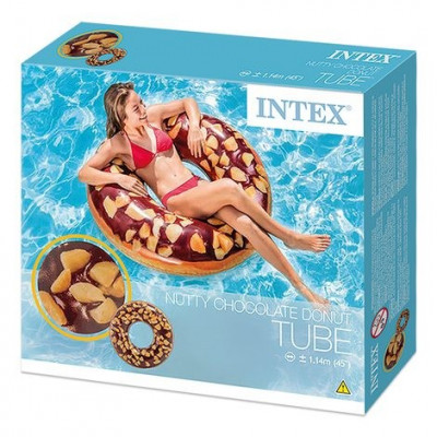 DONUT HINCHABLE CHOCOLATE INTEX