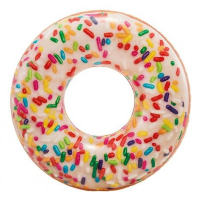 DONUT HINCHABLE FIDEOS DE COLORES INTEX