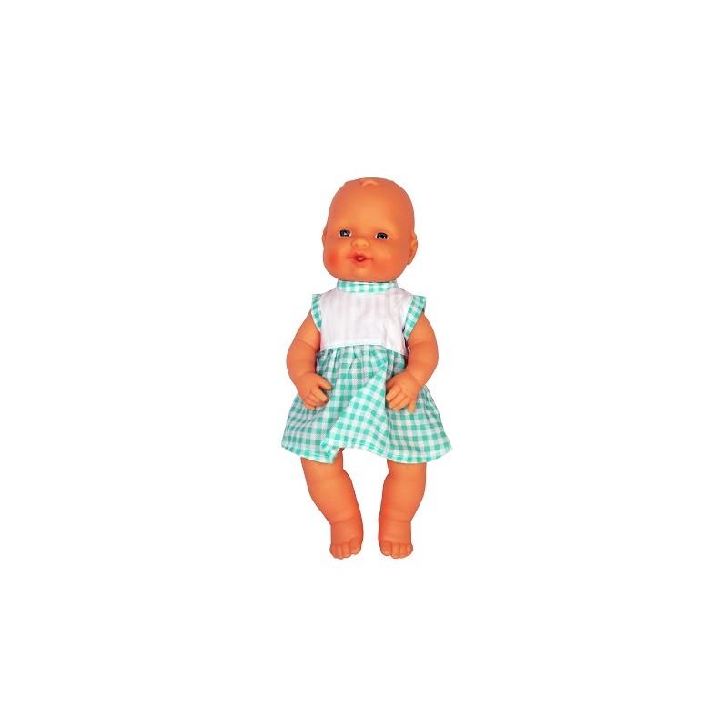 BABY AIR BALBUCEOS 32 cm CUADROS de la categoría Muñecas Bebé