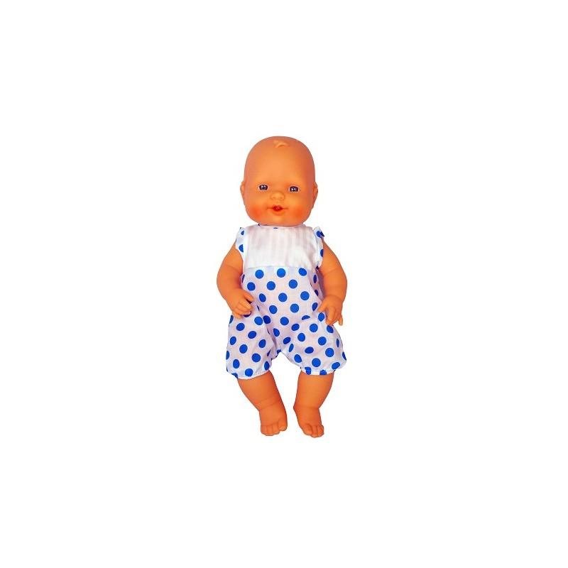 BABY AIR BALBUCEOS 32 cm LUNARES de la categoría Muñecas Bebé