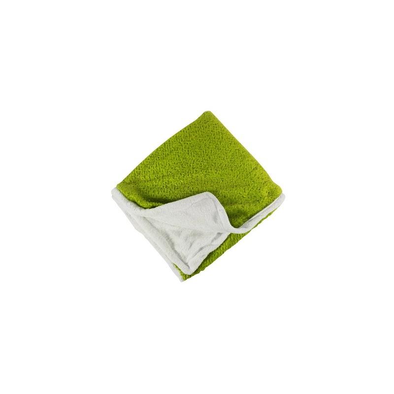MANTA 150X220CM COLOR VERDE de la categoría Textil Dormitorio