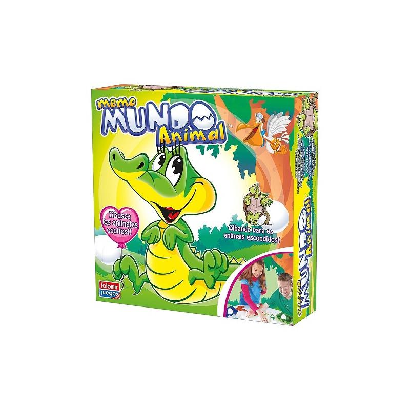 JUEGO MEMO MUNDO ANIMAL FALOMIR de la categoría Juegos