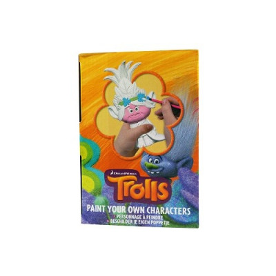 PINTA TUS FIGURAS DE TROLLS PACK DE 3 PERSONAJES de la categoría Trolls