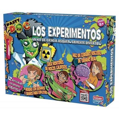 JUEGO NASTY DOC LOS EXPERIMENTOS FALOMIR
