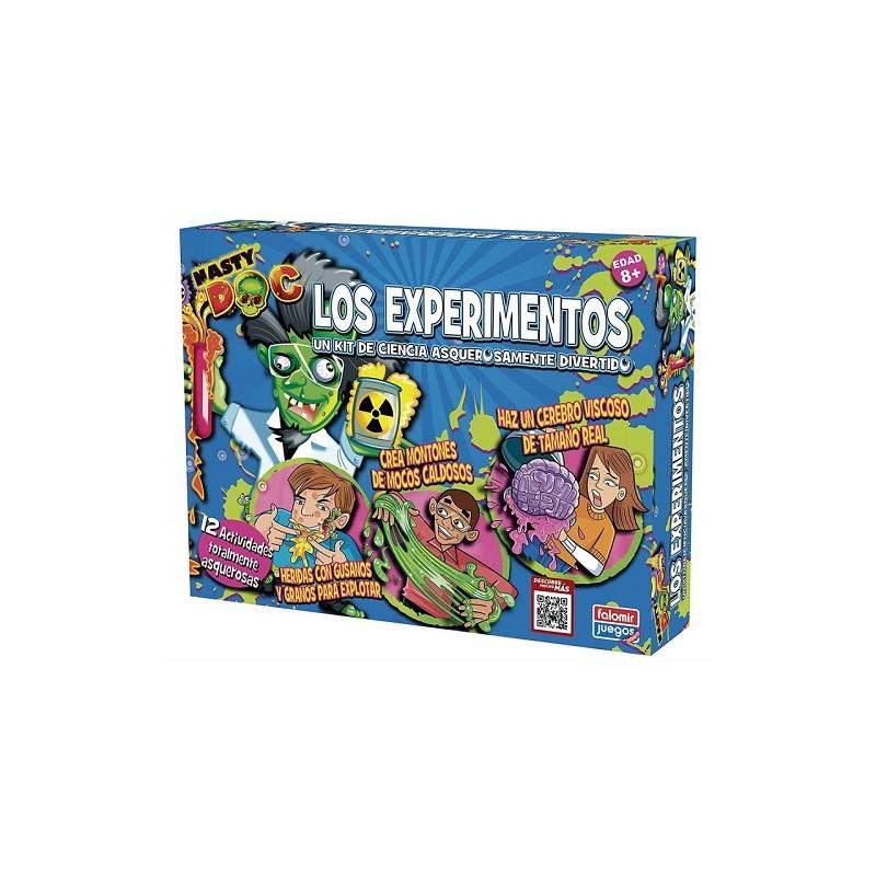JUEGO NASTY DOC LOS EXPERIMENTOS FALOMIR de la categoría Arte y Manualidades