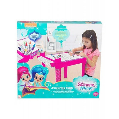 MESA PARA COLOREAR SHIMMER AND SHINE de la categoría Shimmer and Shine