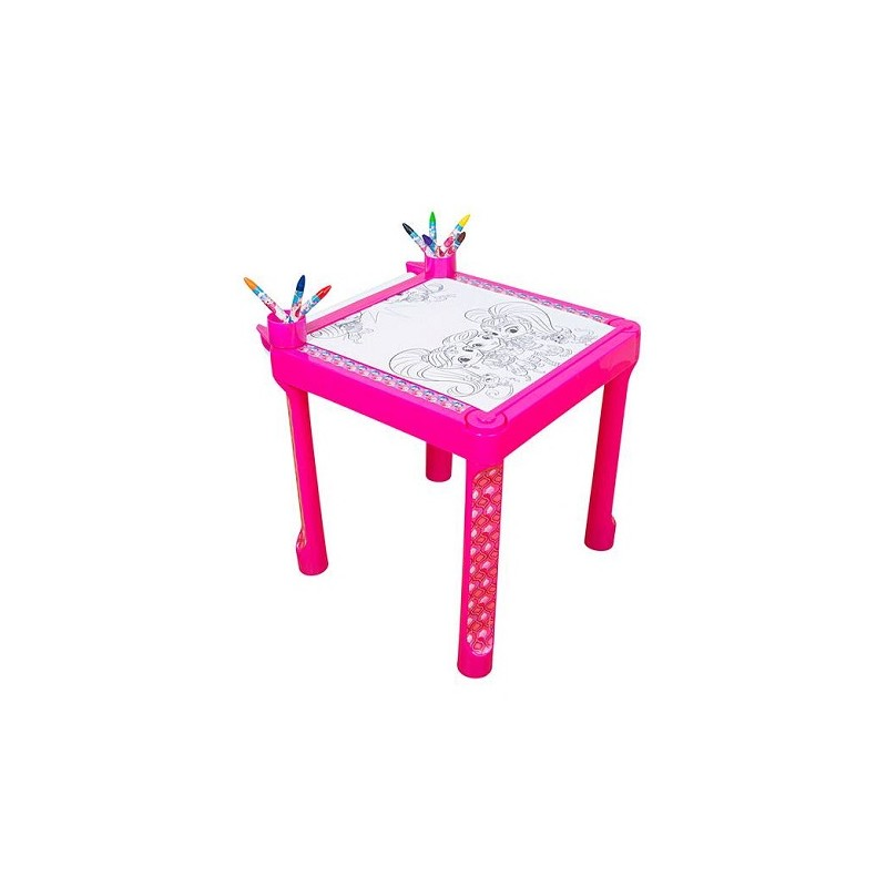 MESA PARA COLOREAR SHIMMER AND SHINE