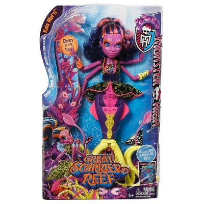 MONSTER HIGH GREAT SCARIER REEF MUÑECA KALA MER´RI 28 CM de la categoría Monster High