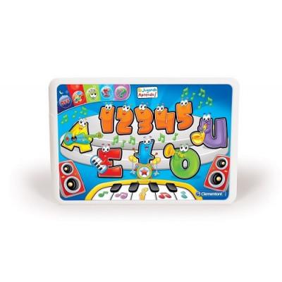 """Tableta Educativa Clementoni La Orquesta - Letras y Números. Colección """"Jugando aprendo"""" de la categoría Preescolar"""