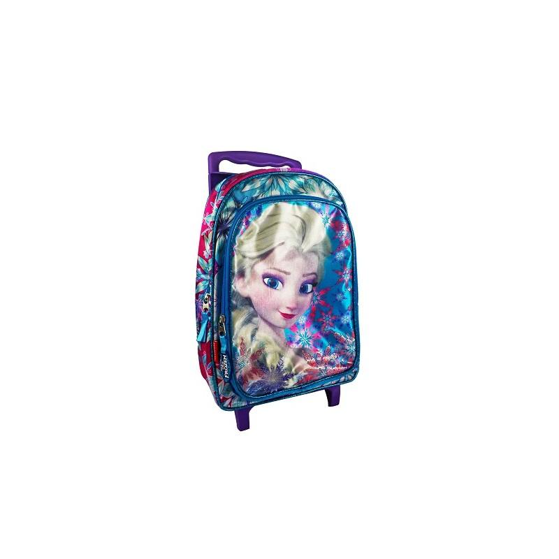 Mochila con ruedas de Elsa de Frozen. Carro morado de la categoría Mochilas y Trolleys