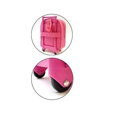 Mochila con ruedas de Minnie Mouse. Mochila escolar. Carro rosa de la categoría Minnie Mouse