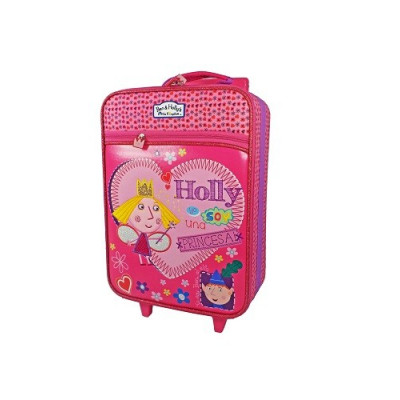 MALETA INFANTIL TROLLEY CON RUEDAS BEN & HOLLY