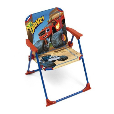 SILLA PLEGABLE INFANTIL DE PLAYA DE LA SERIE BLAZE Y LOS MONSTER MACHINES