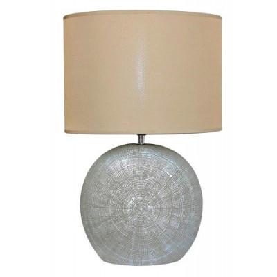 LAMPARA SOBREMESA ALTA TULIPA OVALADA. COLOR DORADO CLARO de la categoría Iluminación