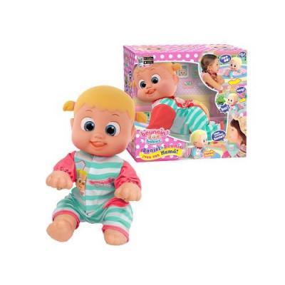 Muñeco Bebé Baniel y Bounie !Ven con Mamá!. Bebé niña