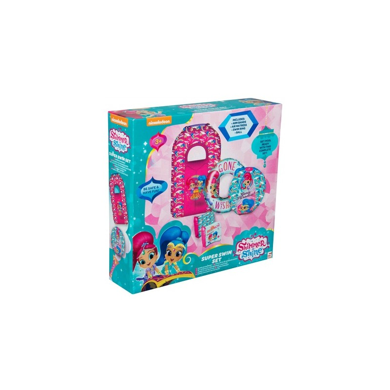 SUPER SET DE BAÑO SHIMMER AND SHINE