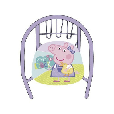 SILLA METAL PEPPA PIG APILABLE