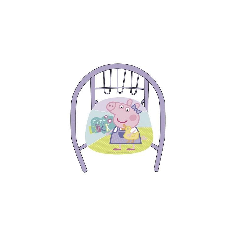 SILLA METAL PEPPA PIG
