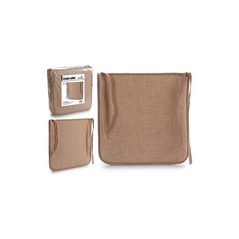 PACK 6 COJINES PARA ASIENTOS DE SILLA COLOR MOKA de la categoría Decoración Textil