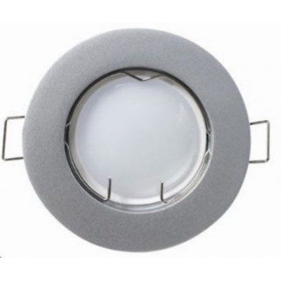 PACK 3 FOCOS LED EMPOTRABLE. FIJO. 5W. COLOR GRIS