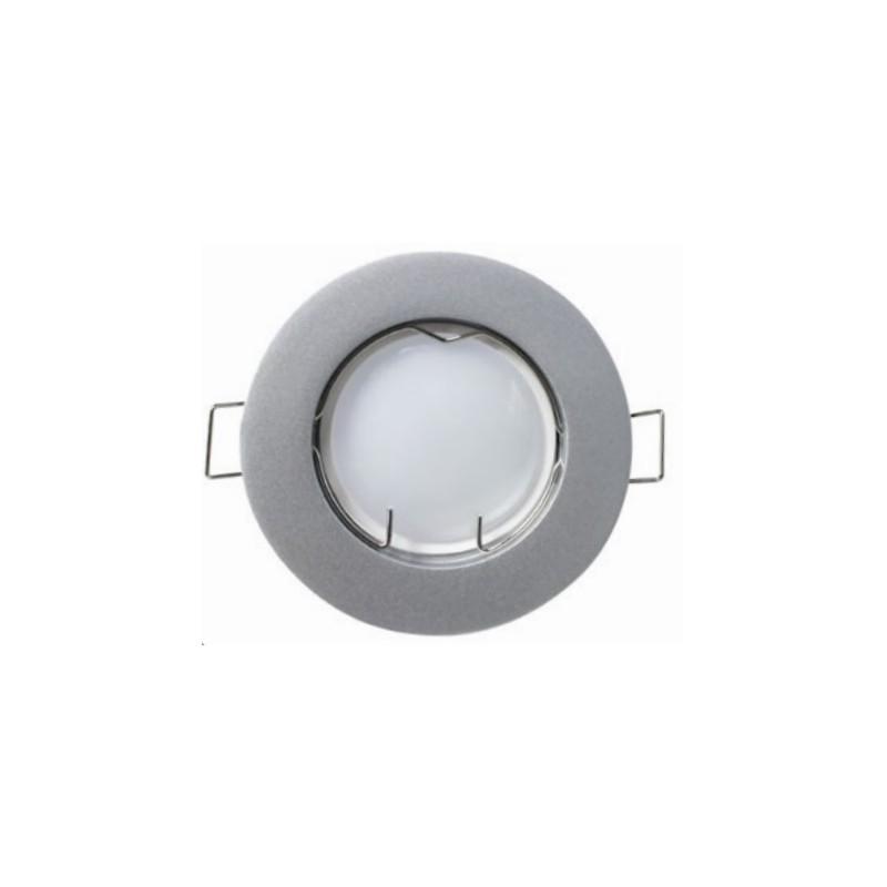 PACK 3 FOCOS LED EMPOTRABLE. FIJO. 5W. COLOR GRIS de la categoría Iluminación