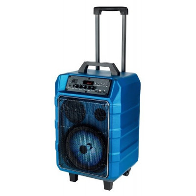 ALTAVOZ TROLLEY 15W CON BLUETOOTH. COLOR AZUL