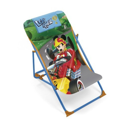 TUMBONA INFANTIL PLEGABLE MICKEY MOUSE