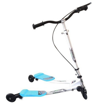 PATINETE 3 RUEDAS SPEED SCOOTER VIDA 10, MOD 04 COLOR AZUL Y BLANCO