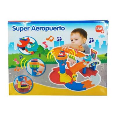 SUPER AEROPUERTO PLAYSET PARA BEBÉ
