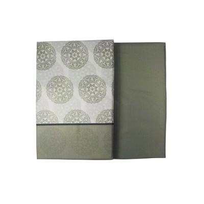 JUEGO DE SABANAS CON 3 PIEZAS GRIS - MOD 02 TAMAÑO 90 de la categoría Textil Dormitorio