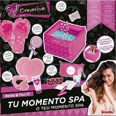 SET DE PEDICURA CREATIVE-MOMENTO SPA