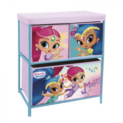 ESTANTERIA DE 3 CAJONES SHIMMER AND SHINE
